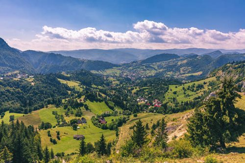 Carpathian Mountains in Poland